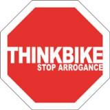 stop arrogance think bike