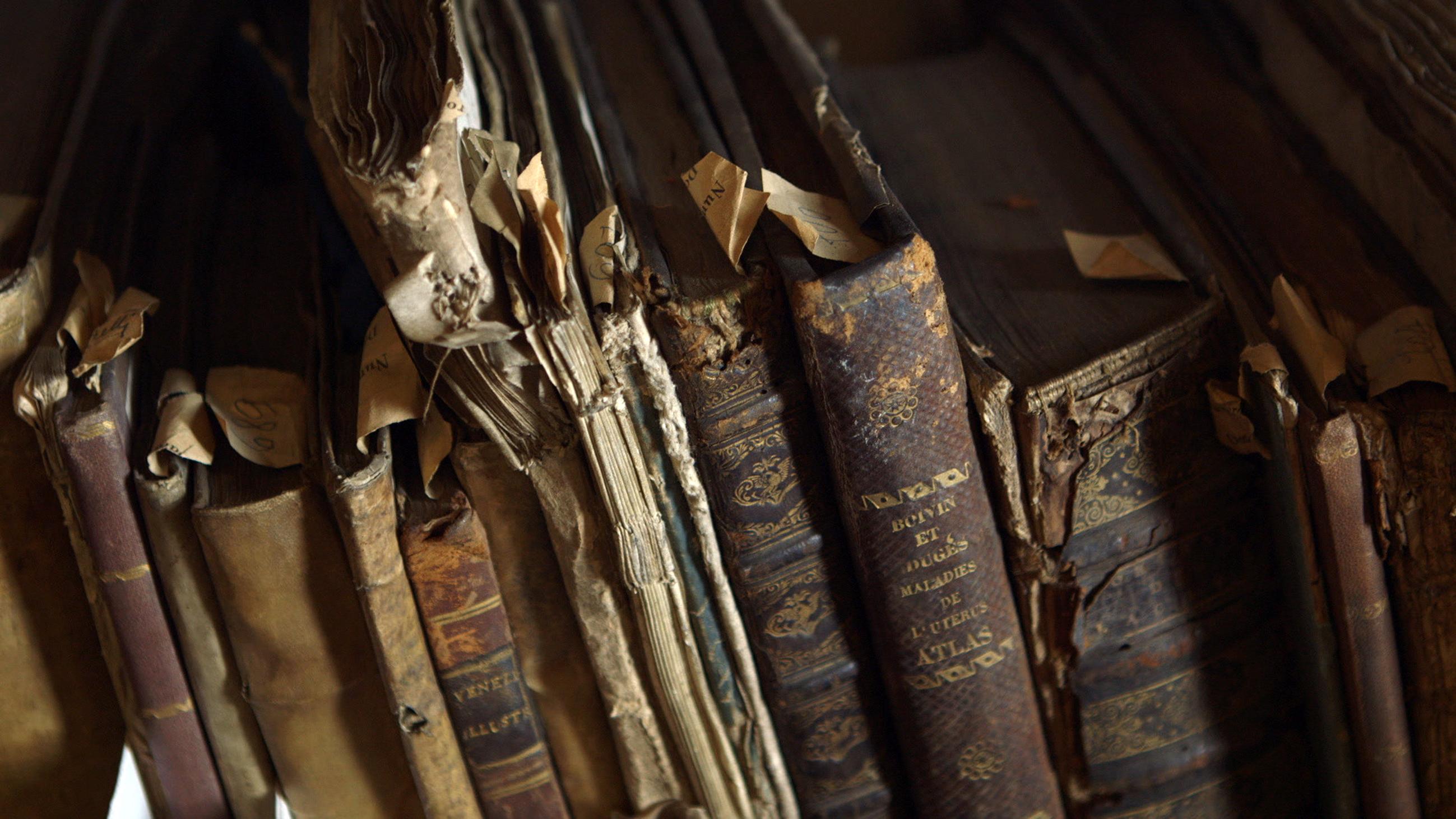 """Tutto il sapere del mondo</br><span class=""""sT"""">Biblioteca Ambrosiana, Milano</span>"""