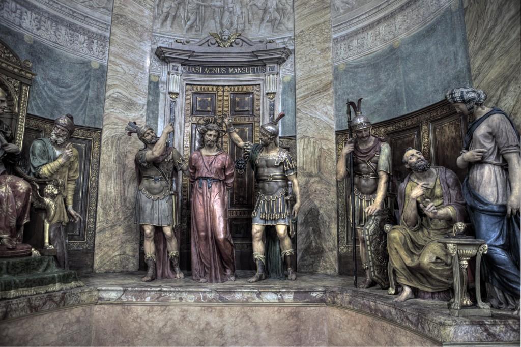 """La bibbia dei poveri</br><span class=""""sT"""">Chiesa di San Sepolcro, Milano</span>"""