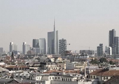 Ho visto Milano dall'altoQuartiere Porta Nuova, Milano
