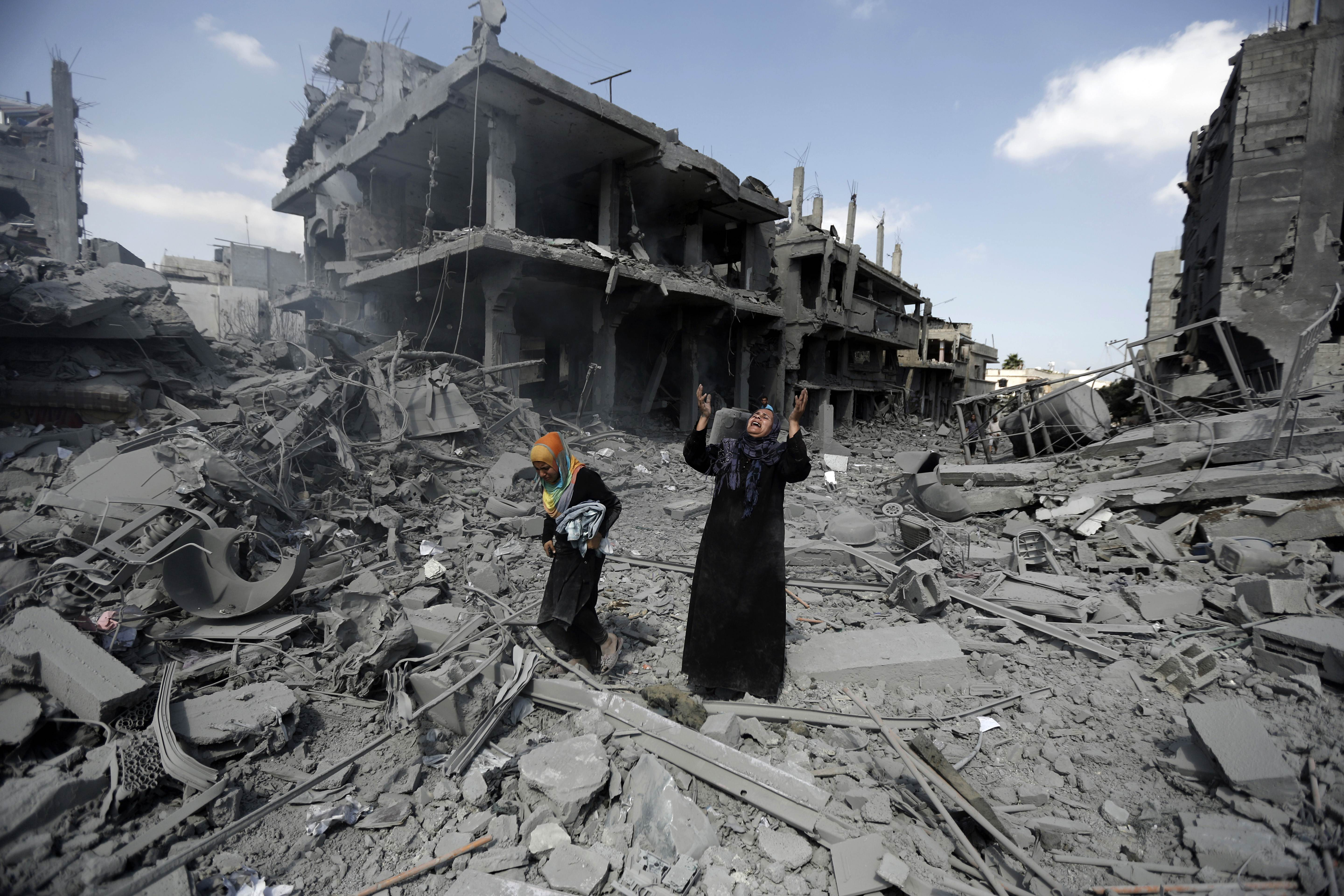 TOPSHOTS 2014-PALESTINIAN-ISRAEL-CONFLICT-GAZA