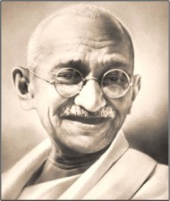 Mahatma Gandhi Indian hero