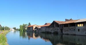 Il Naviglio Grande a Bernate Ticino