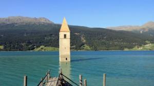 Lago al passo Resia