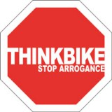 stop arrogance think bike