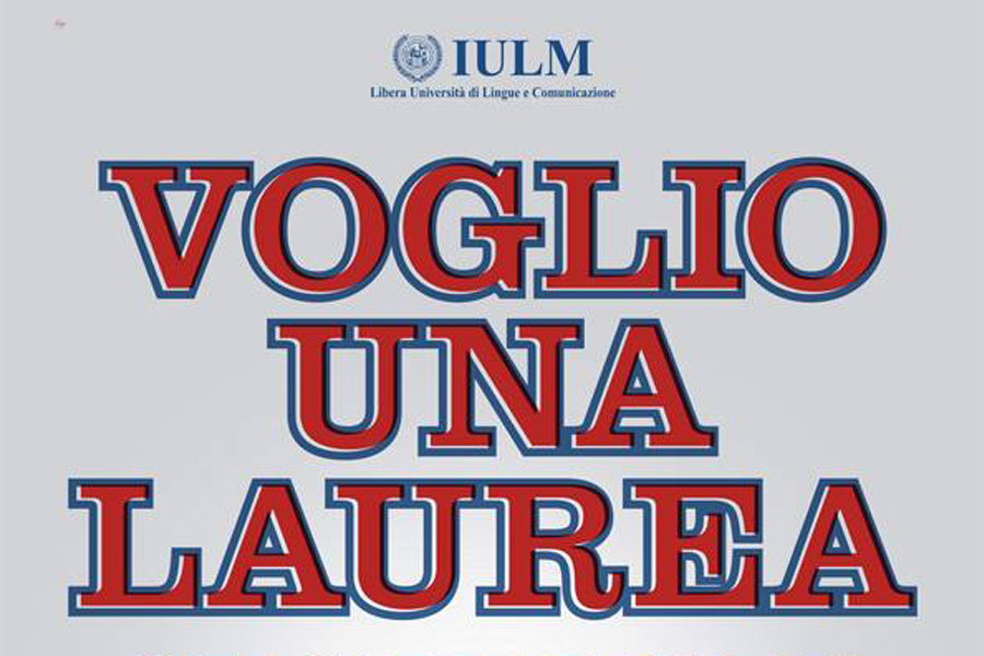 IULM – Affissione / Stampa / Web
