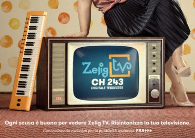 Zelig Tv – Campagna Stampa